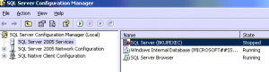SQL Server Configuration Manager